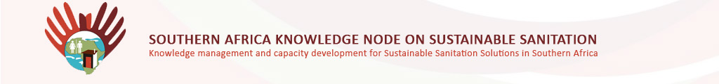 Southern Africa Knowledge Node on Sustainable Sanitation banner